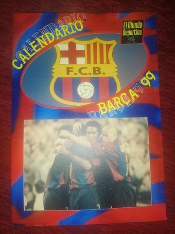 Calendario Barca 1999 (Md)