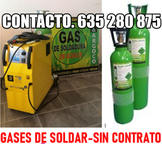 Bombonas Gas Soldar - Sin Contrato