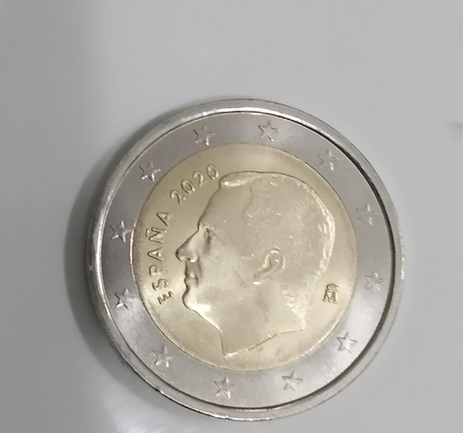 Moneda De 2  España 2020
