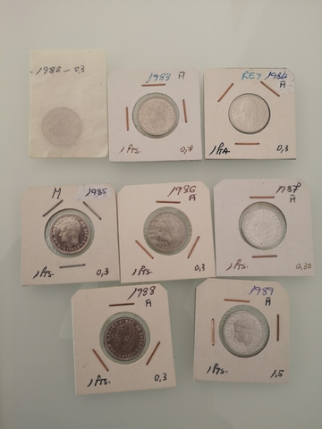 Monedas De España Pesetas Juan Carlos I