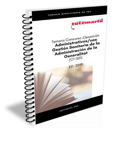 TEMARIO OPOSICIÓ GESTIÓN SANITARIA GVA - foto 1