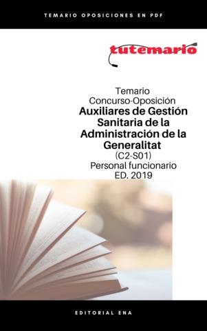 TEMARIO OPOSICIÓ GESTIÓN SANITARIA GVA - foto 3