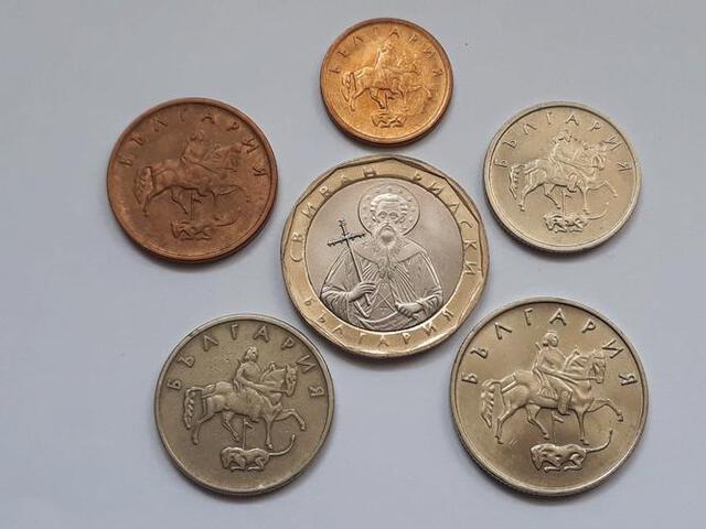 6 Monedas Búlgaras (No Repetidas)