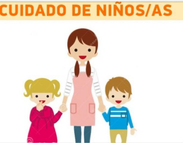 BUSCO TRABAJO COMO CUIDADORA DE NIÑOS - foto 1