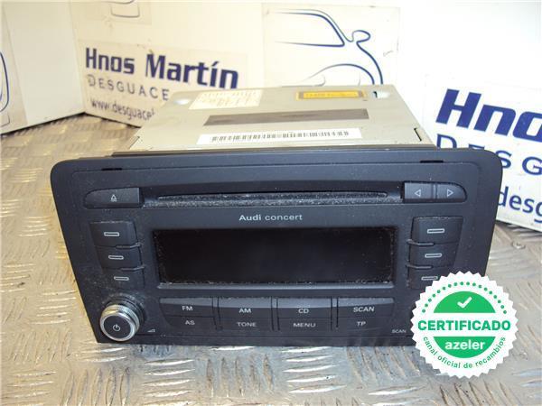Audi Concert Estéreo De Coche Unidad Principal con código de radio Teclas Audi A4 CD MP3 Player