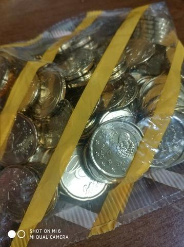 Moneda 20 Céntimos Año 2000