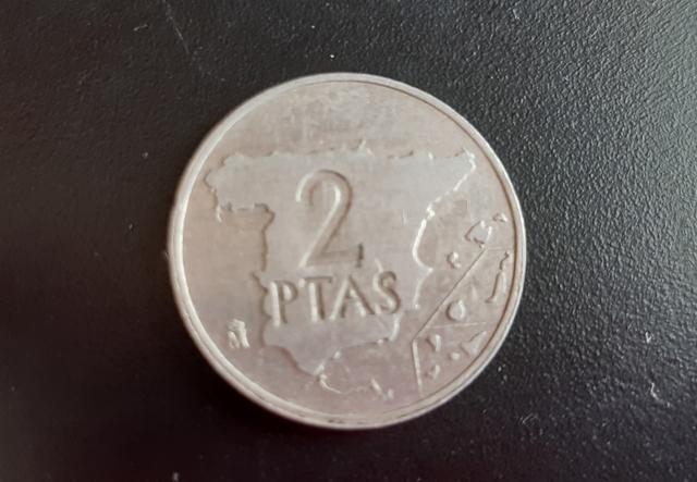 Moneda 2 Pesetas De 1984