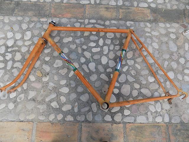 Cuadro De Bicicleta Zeus Alfa