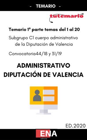 TEMARIO OPOSICION DIPUTACIÓN DE VALENCIA - foto 1