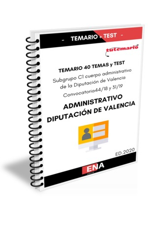 TEMARIO OPOSICION DIPUTACIÓN DE VALENCIA - foto 2