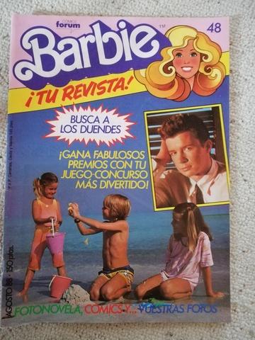 BARBIE TU REVISTA! DE LOS 80 - foto 2