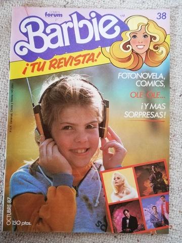 BARBIE TU REVISTA! DE LOS 80 - foto 3