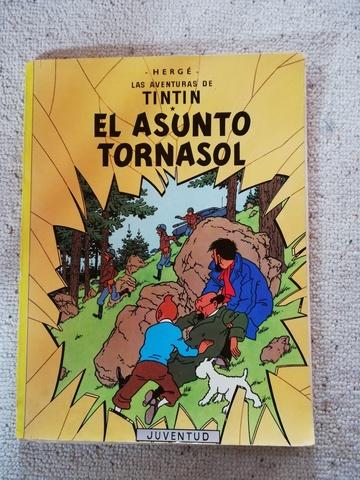 TINTIN EL ASUNTO TORNASOL DE 1984 - foto 1