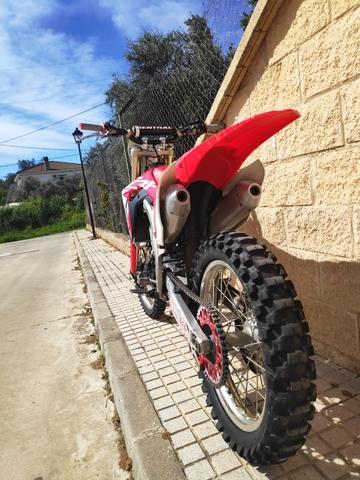 Gp-Tech rueda dentada cadenas kit piñón cadena rojo Yamaha YZ yzf 125 250 48 49 50 51