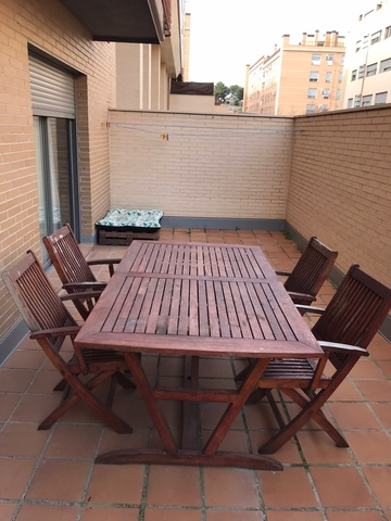 MIL ANUNCIOS.COM - Conjunto mesa jardin, sillas y hamacas