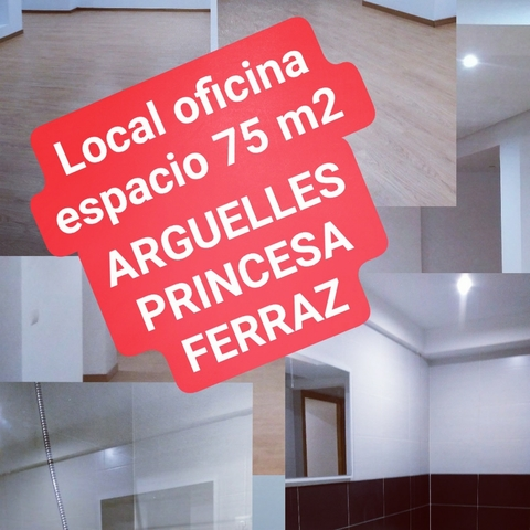 OFICINA 75 M2 INTERIOR ARGUELLES PRINCESA - foto 5