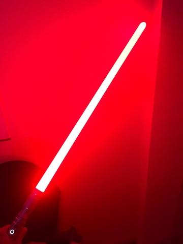 ESPADA LASER LIGTHSABER  105 CM STAR WARS// SABLE LED KYLO REN CON LUZ Y SONIDO