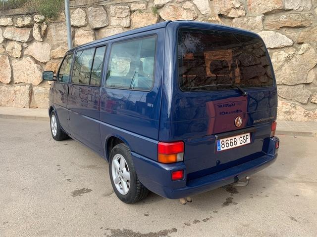 Guardabarros reparación chapa trasera derecha VW Transporter t4 año 90-03