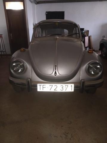 Clásico VW Beetle Bug Tipo 1 refrigeración por T-barras Negro Delantero O Trasero 1968 Par