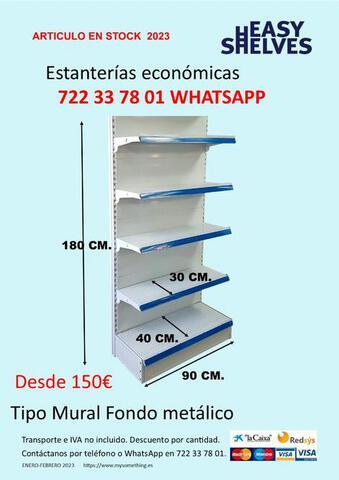 ESTANTERIAS METALICAS SUPERMERCADO - foto 2