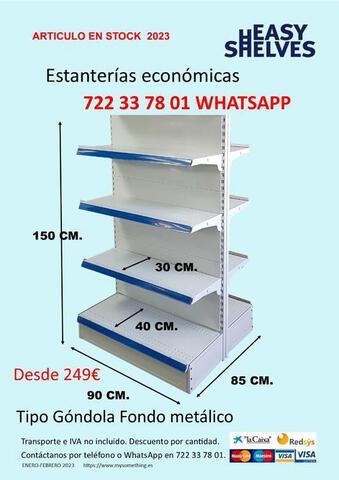 ESTANTERIAS METALICAS SUPERMERCADO - foto 3