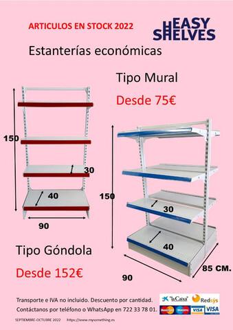ESTANTERIAS METALICAS SUPERMERCADO - foto 4