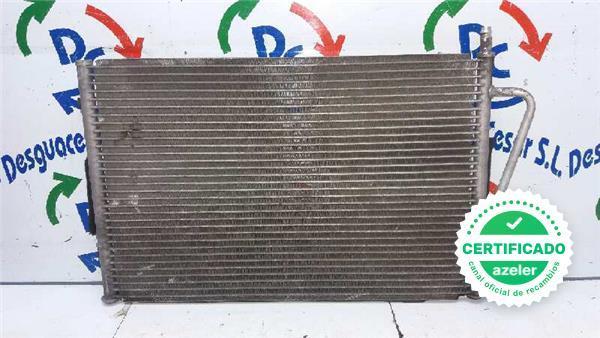 Clima radiador condensador aire acondicionado ford fiesta 2011-2012 1,25 1,4 1,6b 1,4 tdci