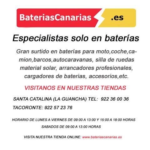 BATERÍA XTECH 12V.  74AH - foto 2