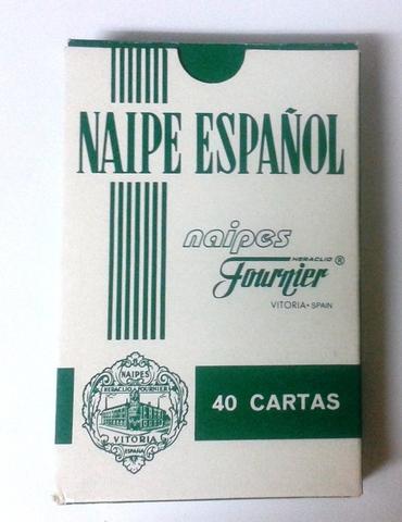 Naipe Español Baraja  Heraclio Fournier