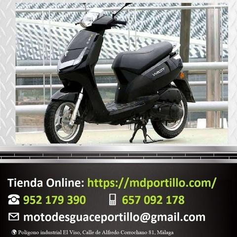 Motor de arranque//Starter rel/é con cable para Peugeot Speedfight 4/50/cc Tweet Vivacity V Click
