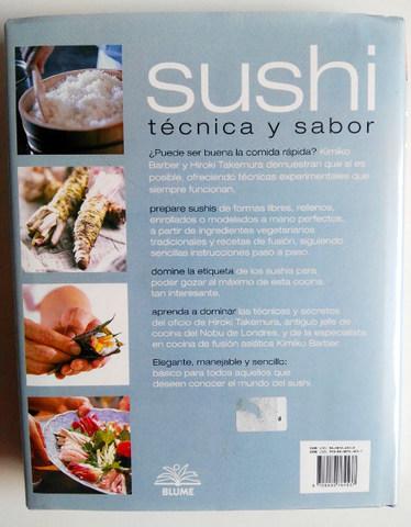 LIBRO SUSHI TÉCNICA Y SABOR MADRID - foto 2