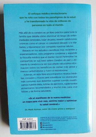 LIBROS MÁS ALLÁ Y ALIMENTA TU CEREBRO - foto 2
