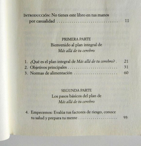 LIBROS MÁS ALLÁ Y ALIMENTA TU CEREBRO - foto 6