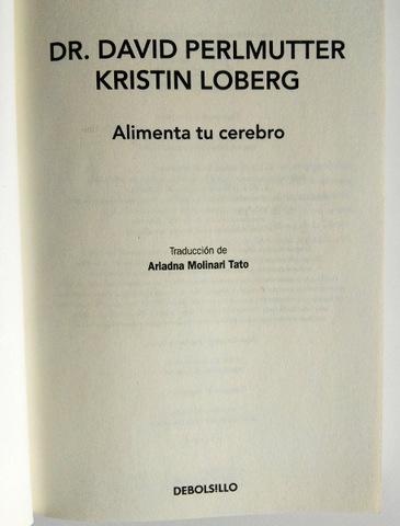 LIBRO ALIMENTA TU CEREBRO - MADRID - foto 3