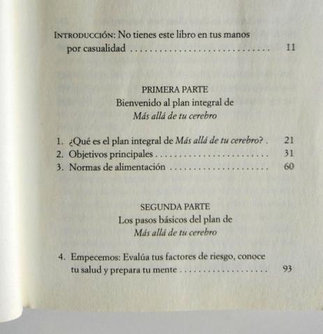 LIBRO ALIMENTA TU CEREBRO - MADRID - foto 8