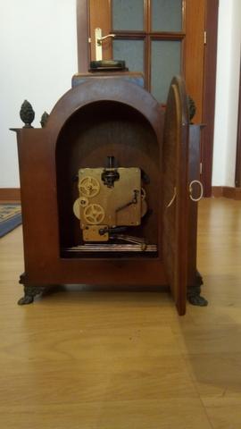 Reloj Antiguo De Sobremesa Sars