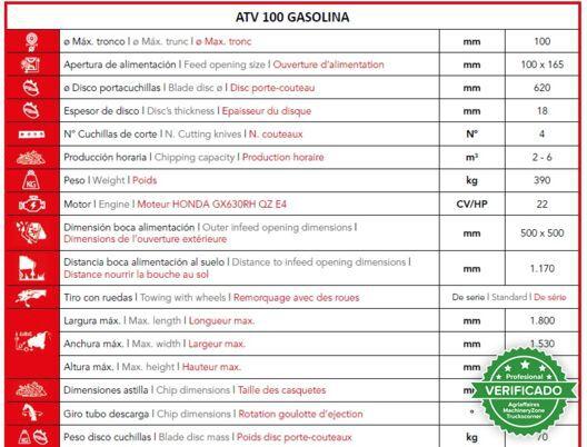 VENTURA ATV 100 GASOLINA (HUDSON) - foto 7