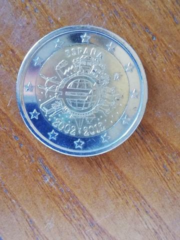 Moneda 2    De Conmemorativa De 2012