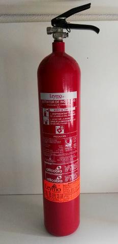 Lote De Tres Extintores Co2 - Madrid