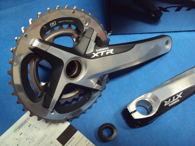 Nuevas.  Bielas Xtr Shimano 175Mm 38-26