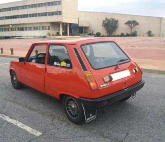 Renault 5 Gt Turbo Nuevo Original Caja de filtro de aire correa de caucho