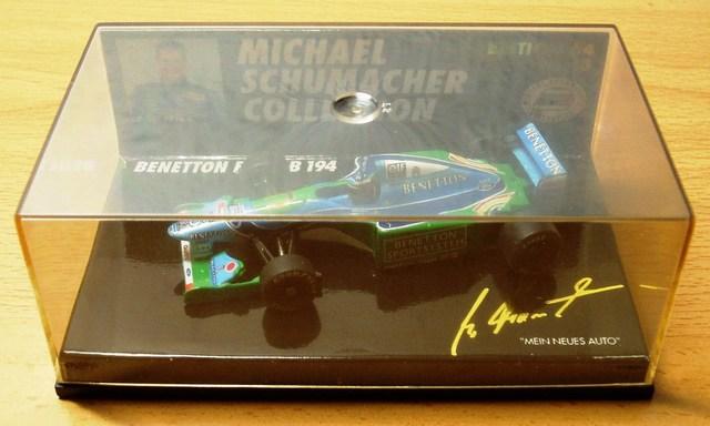 Benetton Ford B 194 - 1:64 Minichamps