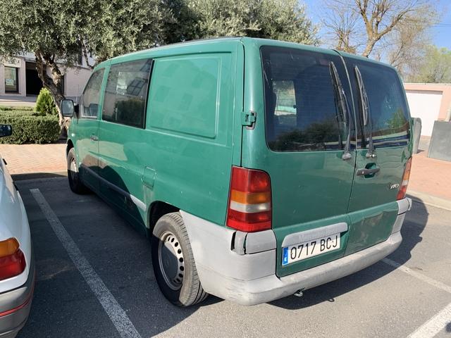 Reparación de chapa puerta trasera izquierda para VW LT 28-35 II autobús 96-06