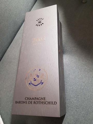 CHAMPAGNE BARONS DE ROTHSCHILD 2008 - foto 2