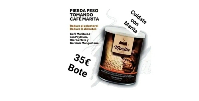 MARITA, EL CAFÉ QUÉ ADELGAZA CON ENERGIA - foto 1