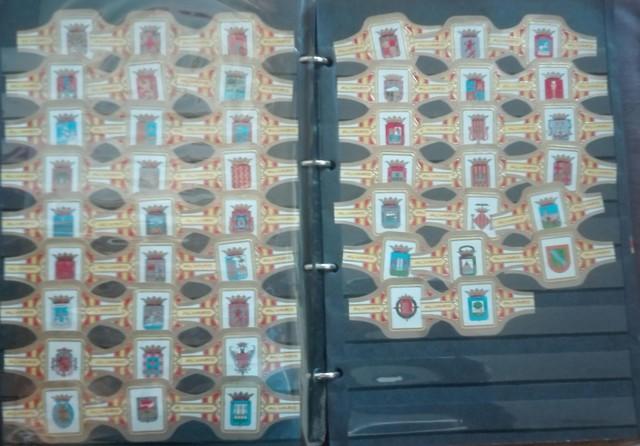 47 Vitolas Escudos Provincias Españolas