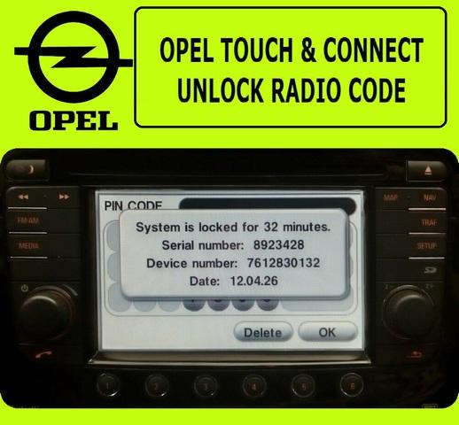 Código PIN seguro Estéreo VW Desbloquear Decodificar Servicio Para RNS navegación y radio-Rápido