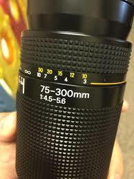 NIKON 75-300 AF NIKKOR 1: 4. 5-5. 6 - foto 4