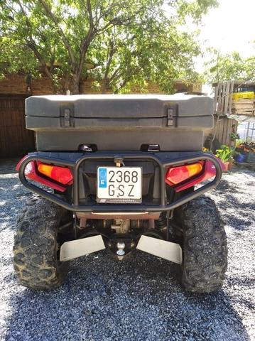 El can Outlander rengade radiador motor ventilador del motor eléctrico Moose Quad ATV nuevo