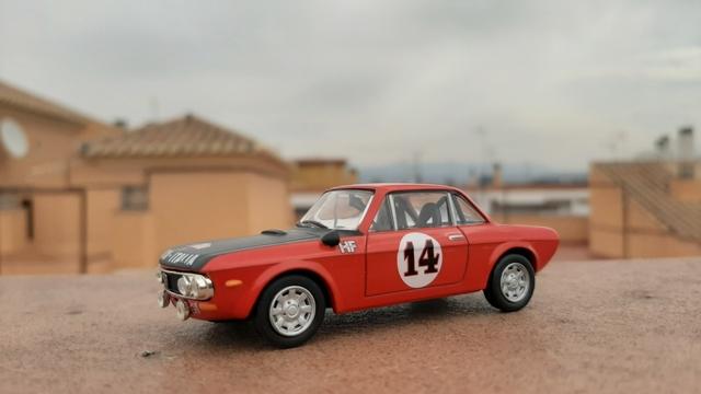 Lancia Fulvia Hf Escala 1/43.